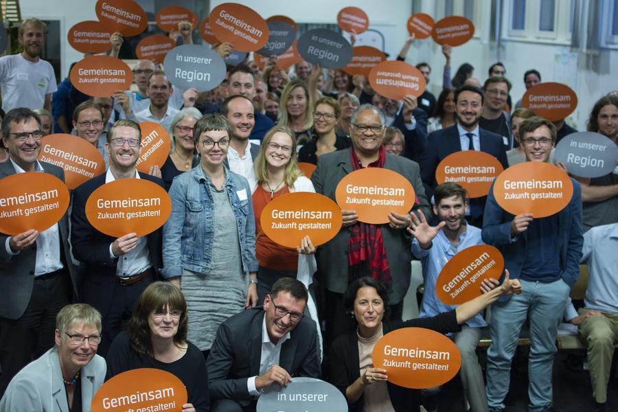 Gemeinsam Zukunft gestalten  - Pitch&Network in Gießen