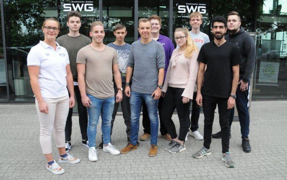 SWG-Auszubildende 2018 - Gruppenbild
