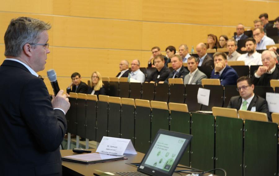 Mathias Samson, Staatssekretär im Hessischen Wirtschaftsministerium