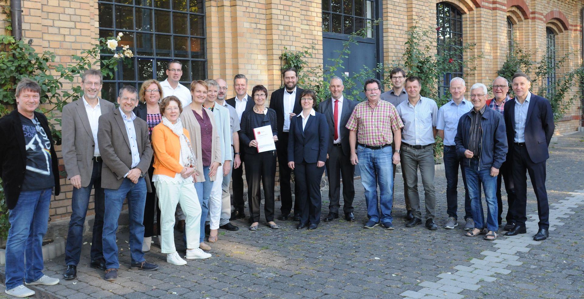 Teilnehmer der Schulung Energiemanagement