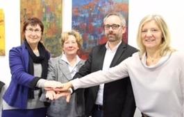 Kooperation der Volkshochschulen Stadt Gießen und Landkreis - Gruppenbild