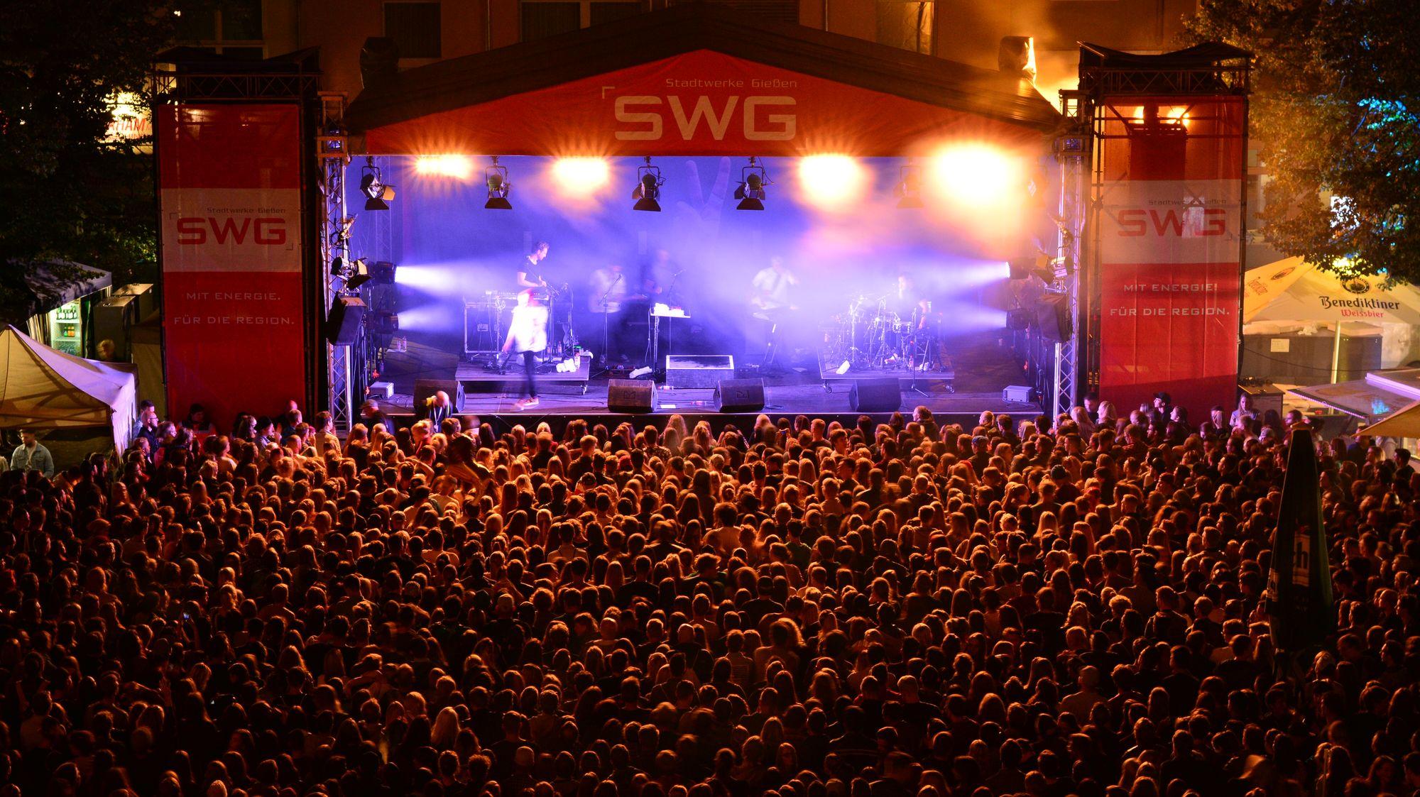 Stadtfest 2017 - Bühne am Kirchenplatz