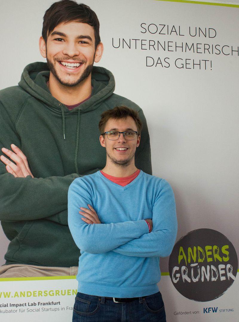 Zu Gast beim Gründerstammtisch am 13.02.2019: Christian Deiters von social-startups.de (Foto: privat)