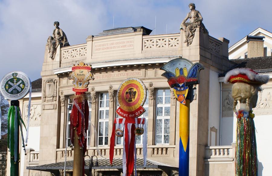 Kunstleitpfosten Berliner Platz