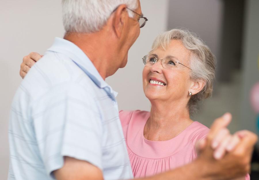 Tanzpaar Senioren