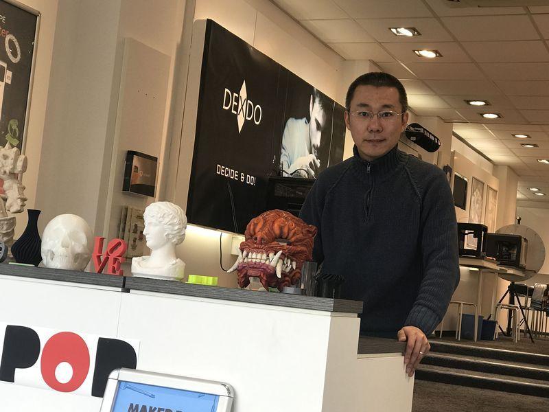 Herr Yilin Wang - Referent beim nächsten Gründerstammtisch. (Foto: privat)