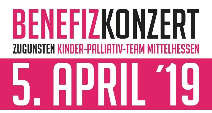 Flyer Benefizkonzert zugunsten Kinderpalliativteam Mittelhessen - Ausschnitt