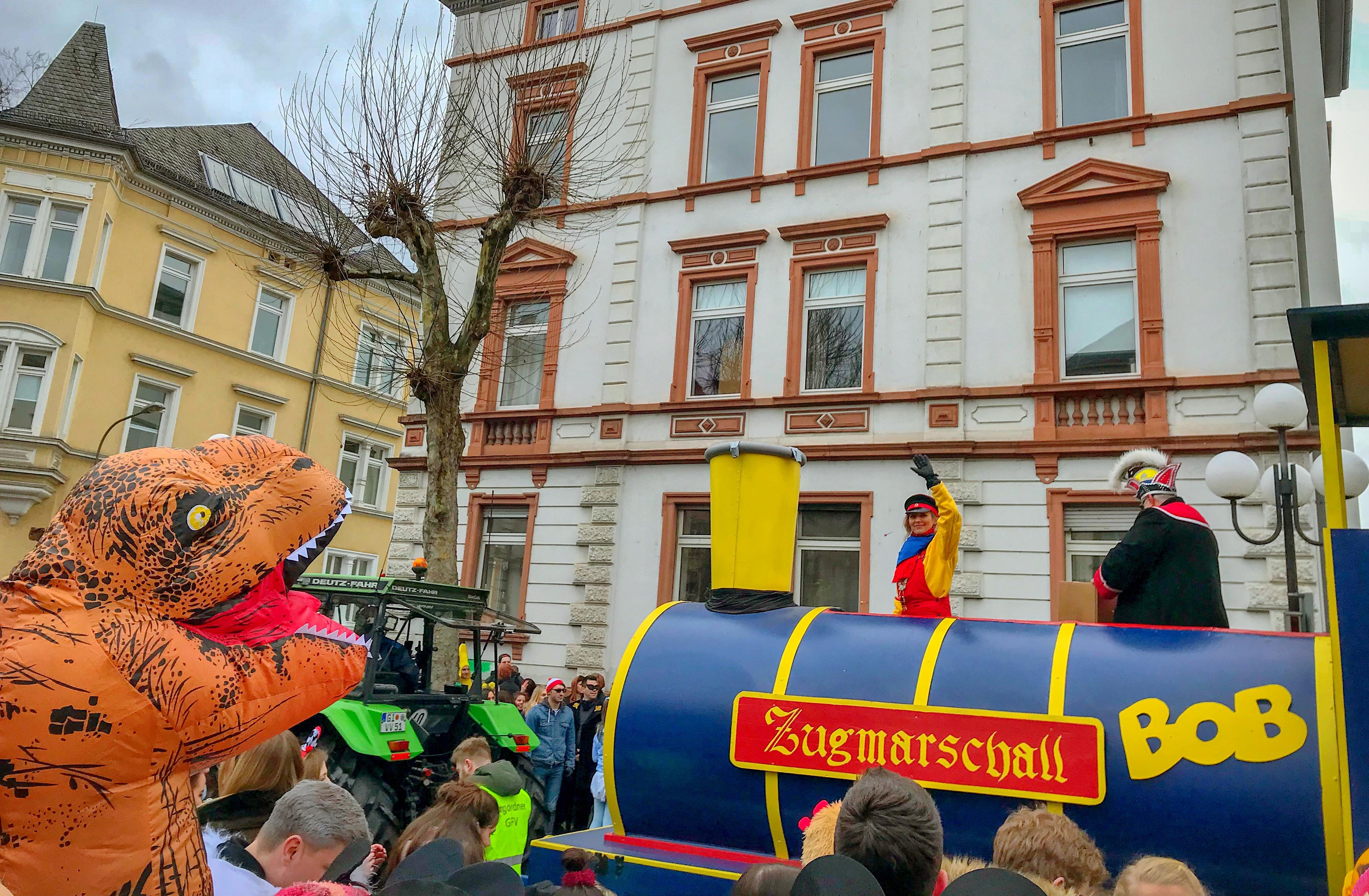Fassenachtsumzug Ludwigstraße