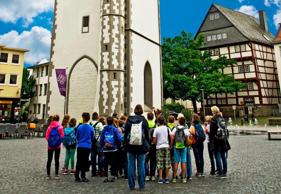 Stadtführung am Kirchenturm mitKindern