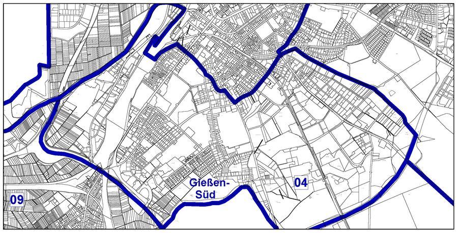Bereich Gießen Süd