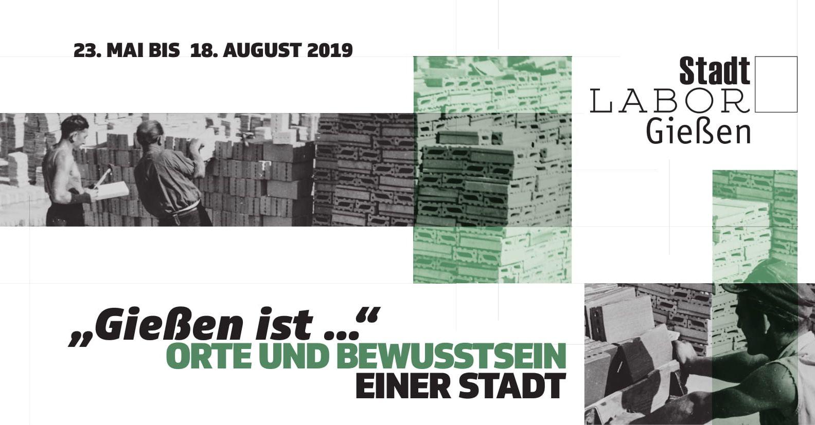 Ausstellung_Gießen ist - Plakat mit Bildausschnitten