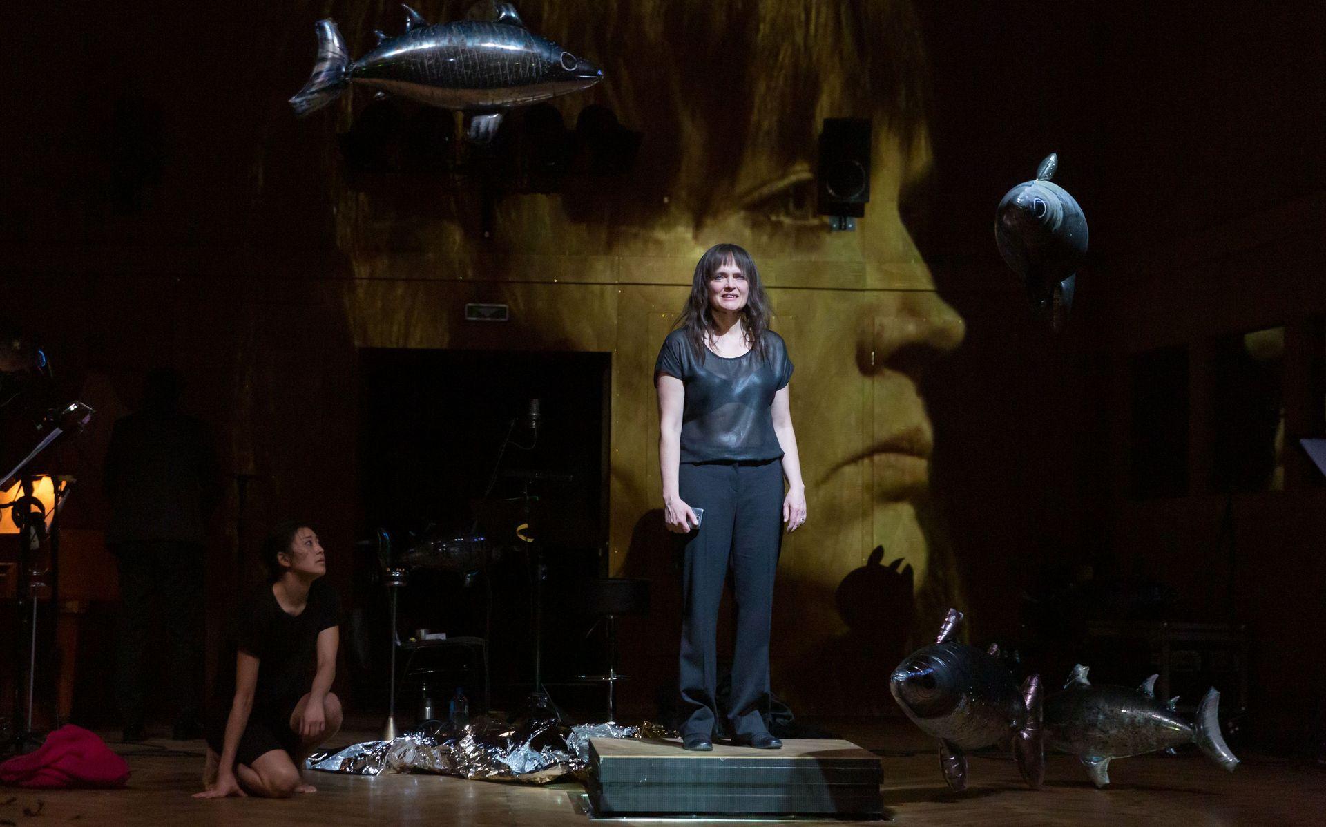 Orlando - Szene des Schauspiels im Stadttheater