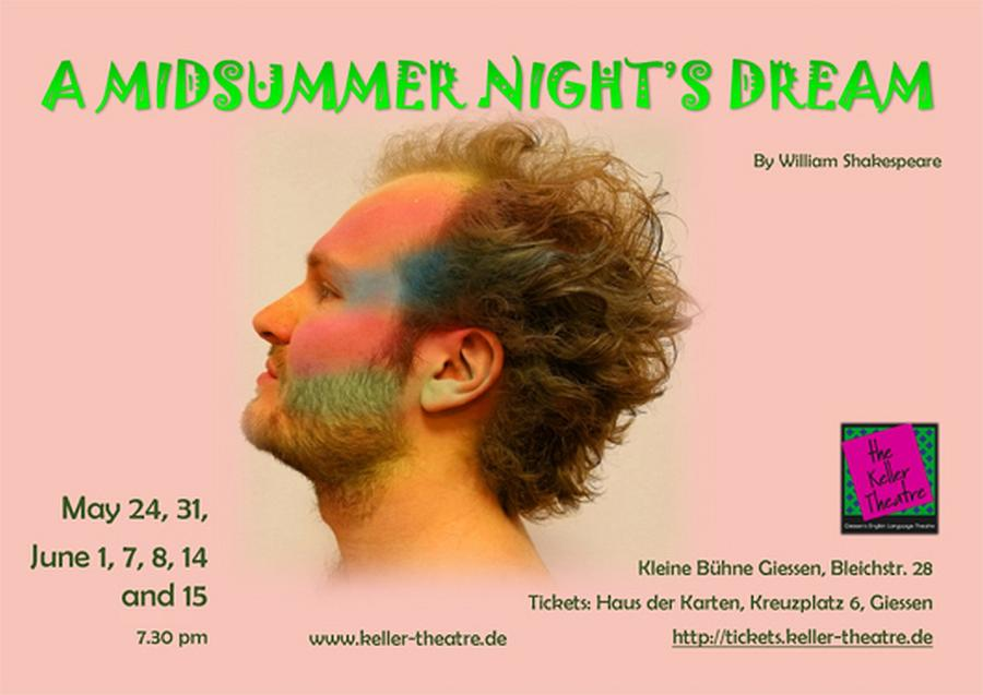 """the Keller Theatre presents: """"A Midsummer Night?s Dream""""by William Shakespeare"""