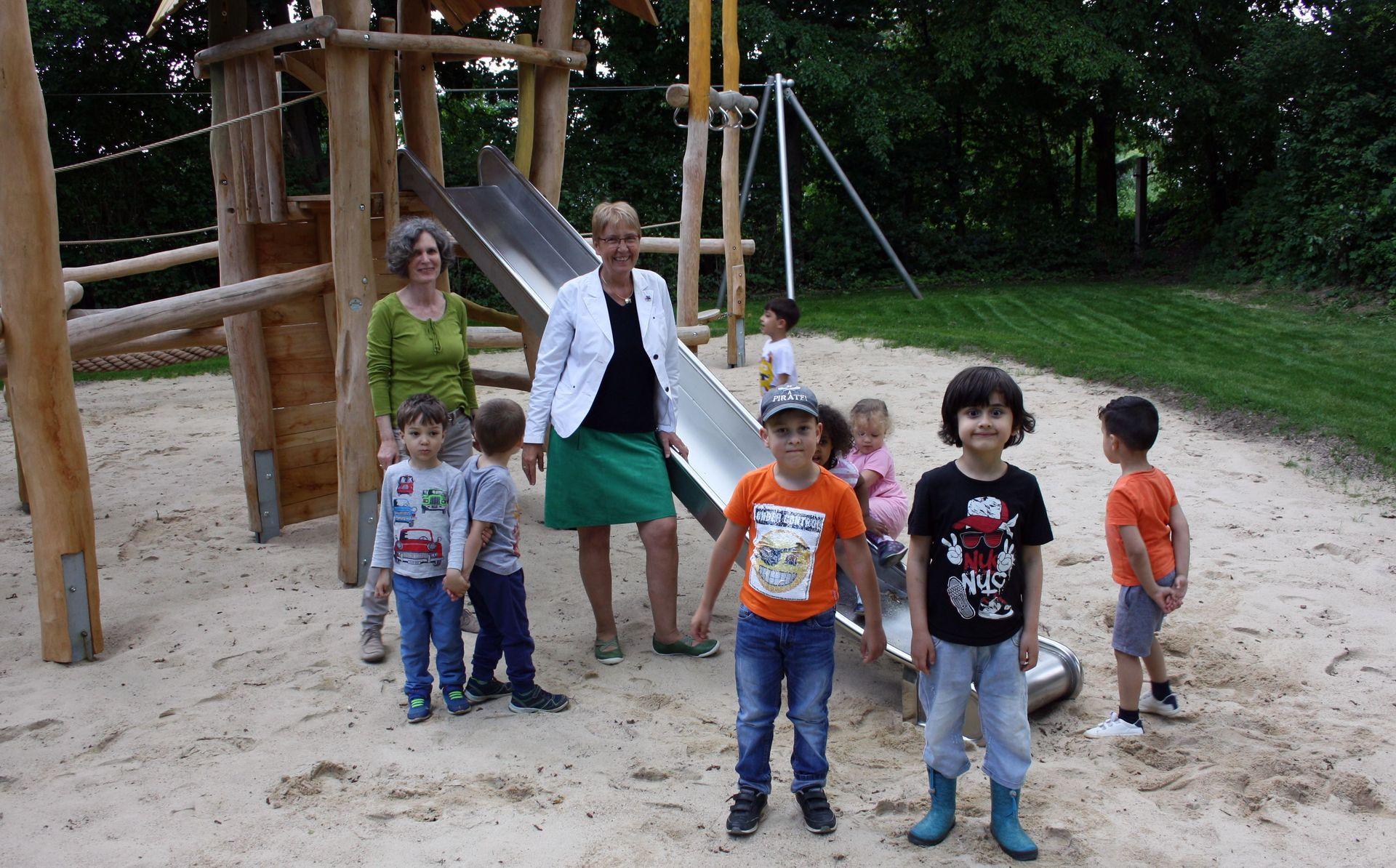 Spielplatz An der Liebigshöhe - Gruppenbild