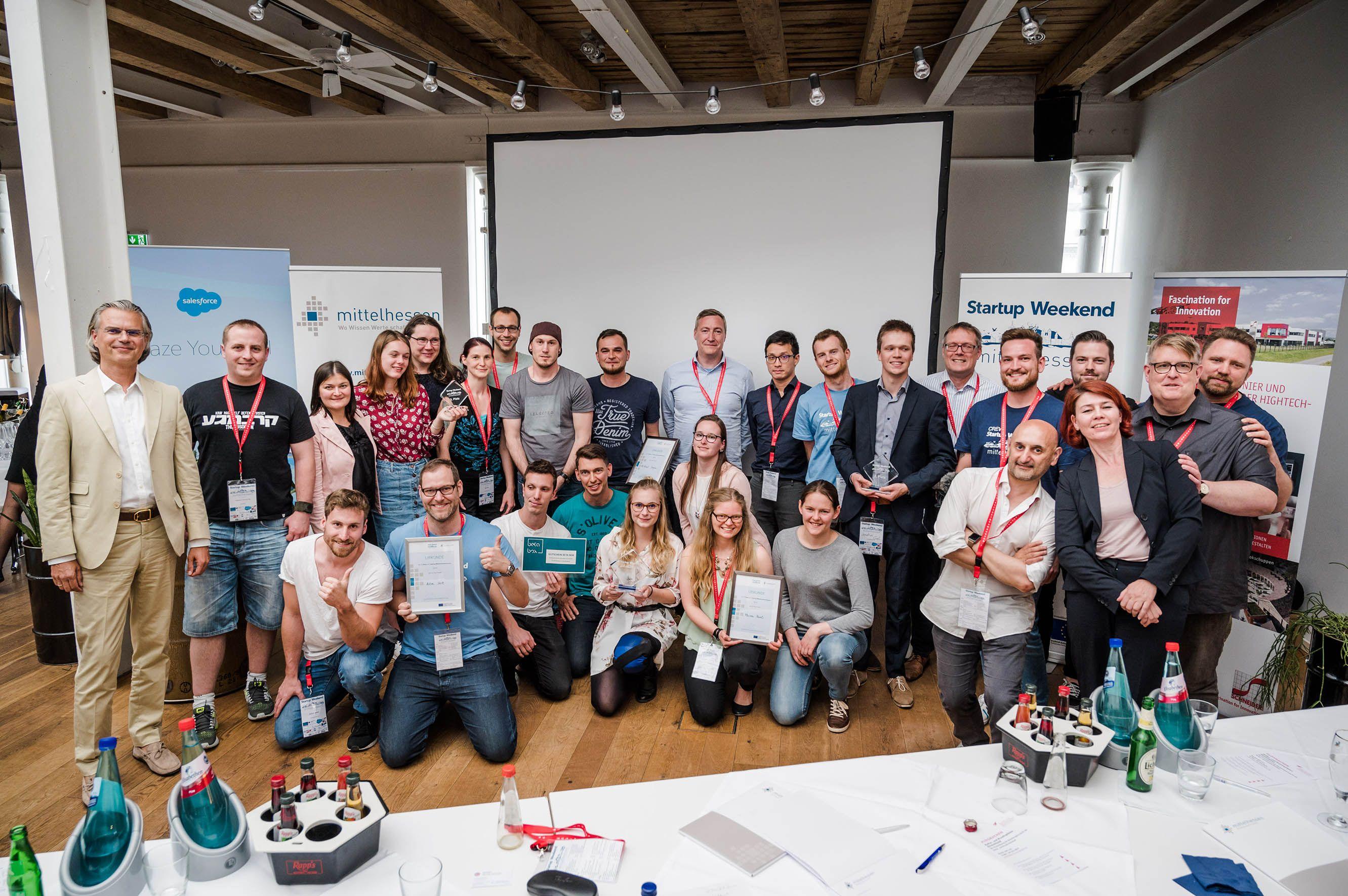 Startup Weekend Mittelhessen 2019 - Final Pitches
