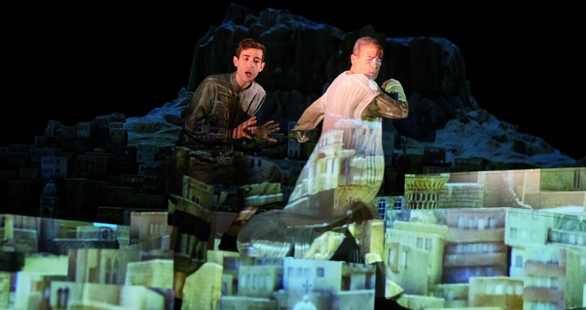 Alp Arslan - Spielszene im Stadttheater