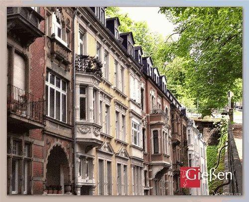 Gründerzeitfassaden in der Goethestraße