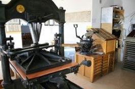 Buchdruckmuseum Setzkasten