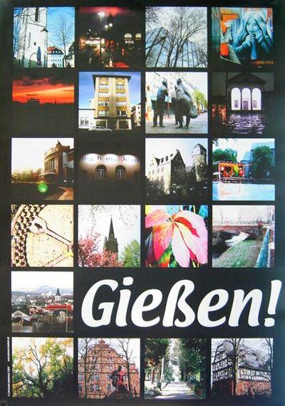 Gießen-Poster