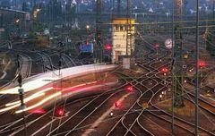 Gleisgewirr am Bahnhof Gießen, Foto: Rolf K. Wegst