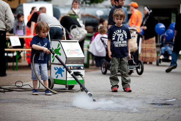 Sauberhaftee Streetparty