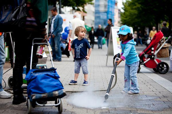 Sauberhafte Streetparty