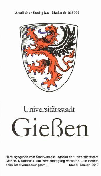 Amtlicher Stadtplan Gießen