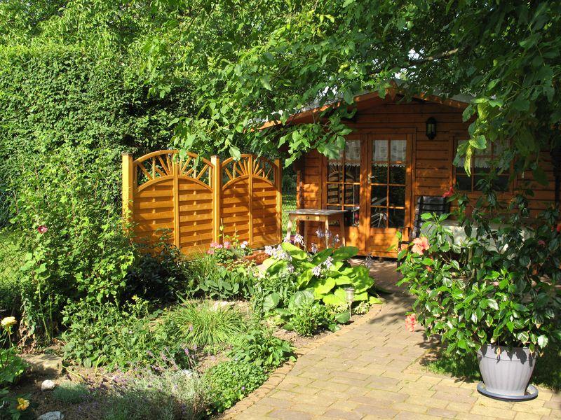Der Garten - ein Ort der Ruhe