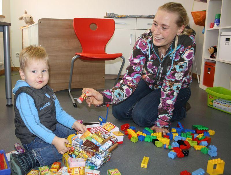 Eltern-Kind-Zimmer an der THM Gießen