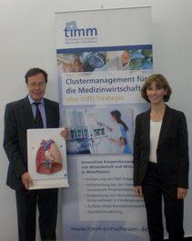 Prof. Dr. Heinz Rupp und Prof. Dr. Elke Roeb (Foto: timm)