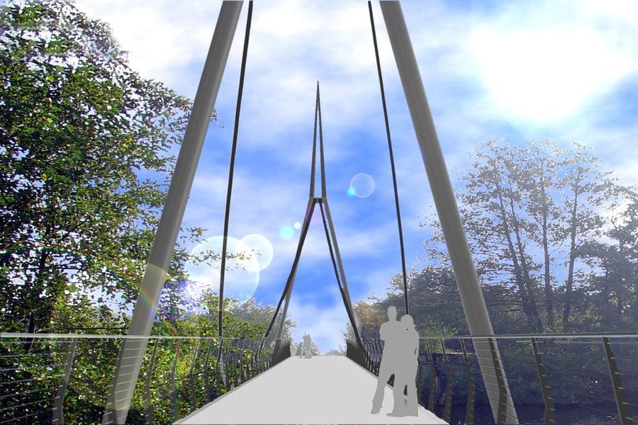 Lahnbrücke - Entwurf