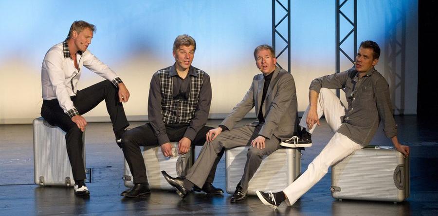 Stadttheater Gießen - Reise ins Glück mit den Schmachtigallen