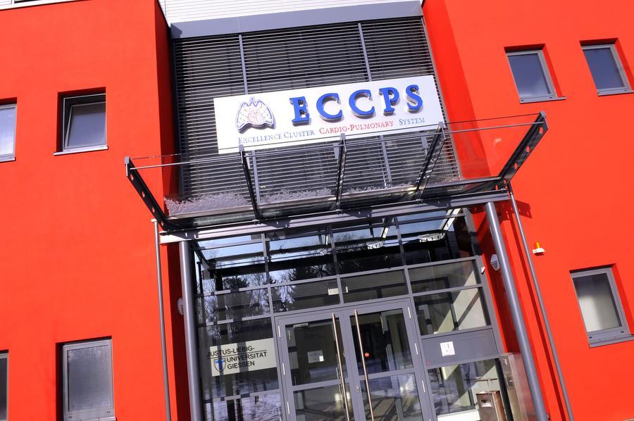Excellence Cluster Cardio-Pulmonary System (ECCPS) an der Justus-Liebig-Universität Gießen.  Foto: Franz E. Möller